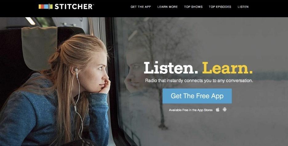 2014 Webby Winner - Stitcher Radio