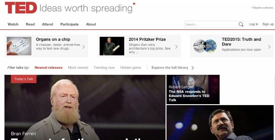 Webby Award Nominee - TED