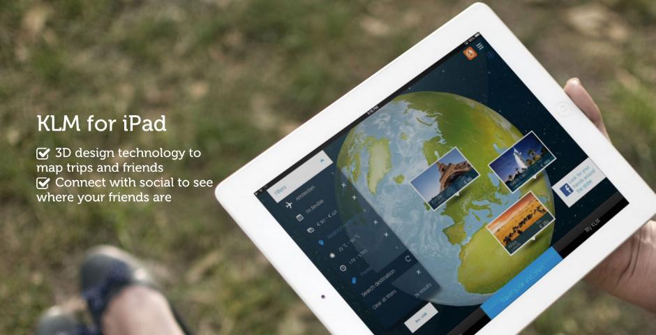 Webby Award Nominee - KLM for iPad