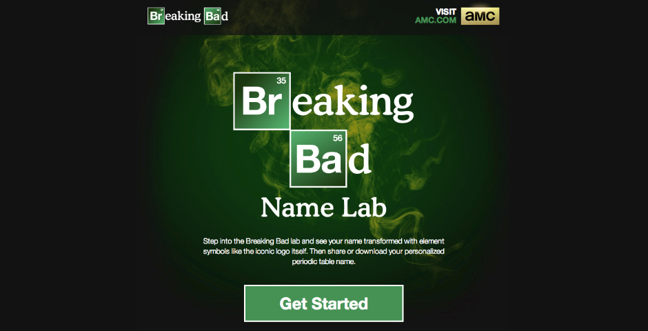 People's Voice - Breaking Bad Name Lab