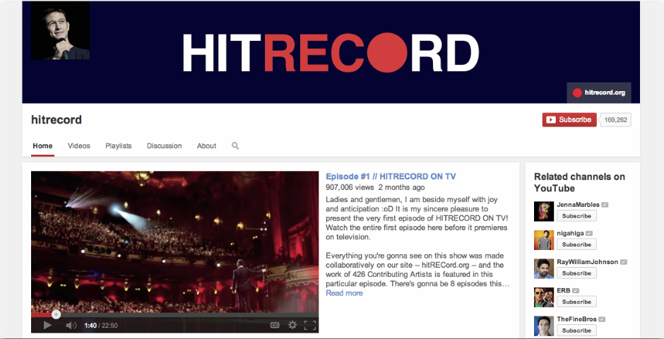 Nominee - hitRECord