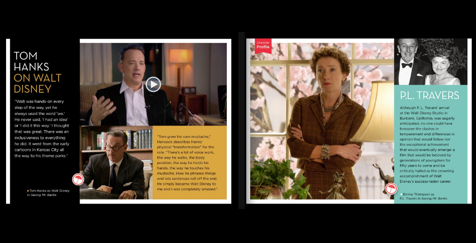 Webby Award Nominee - Saving Mr. Banks: The Official Multi-Touch Book