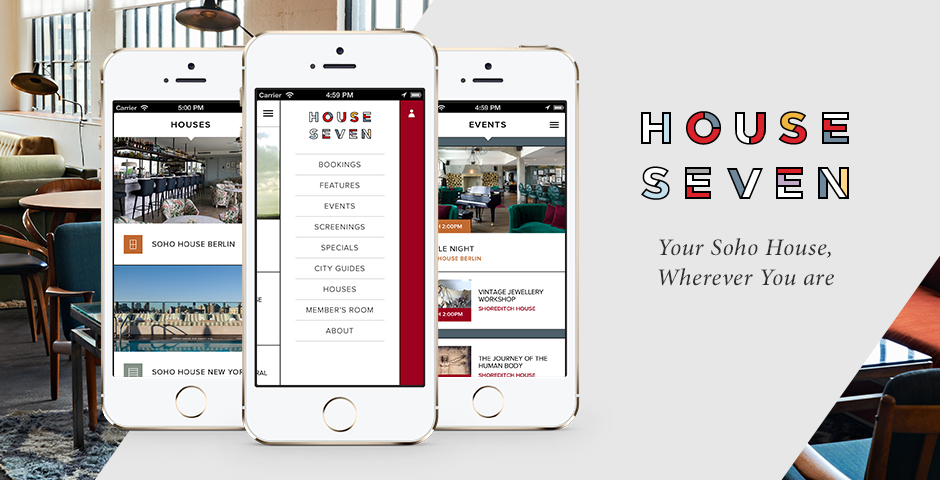Nominee - Soho House members app