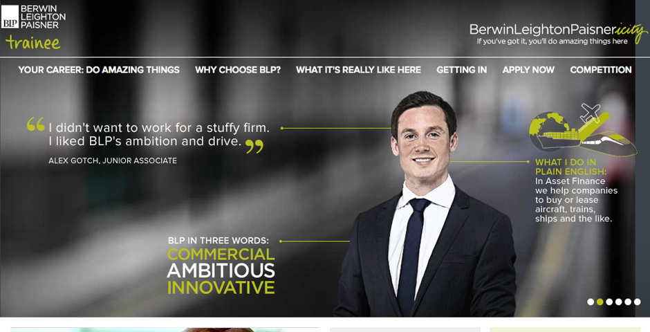 Nominee - Berwin Leighton Paisner Graduate Recruitment