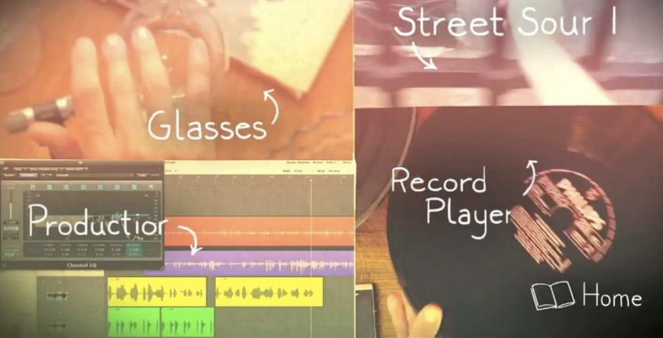 2012 Webby Winner - Sony Xperia Studio