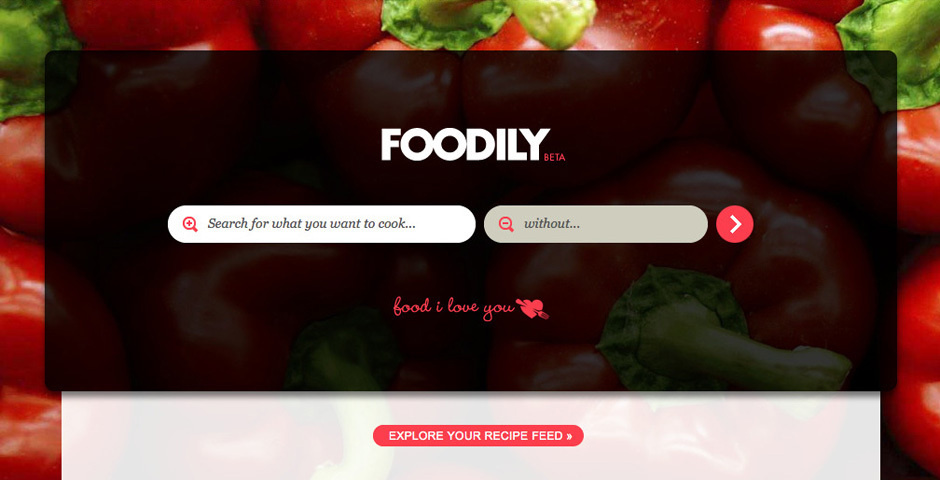 2012 Webby Winner - Foodily