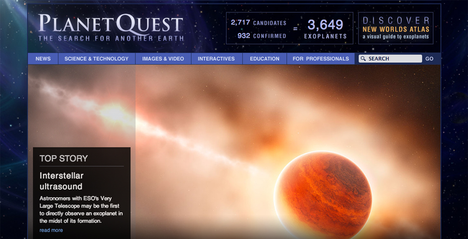 Nominee - PlanetQuest: The Search for Another Earth