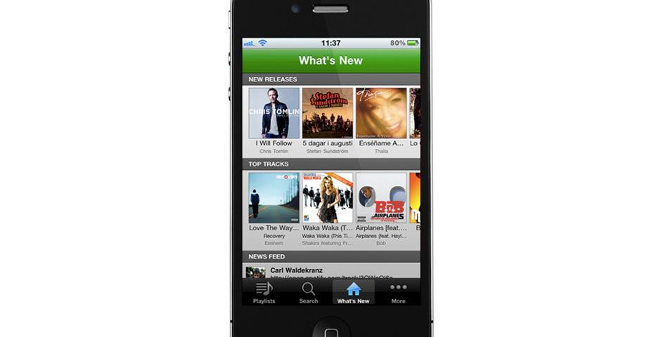 2012 Webby Winner - Spotify