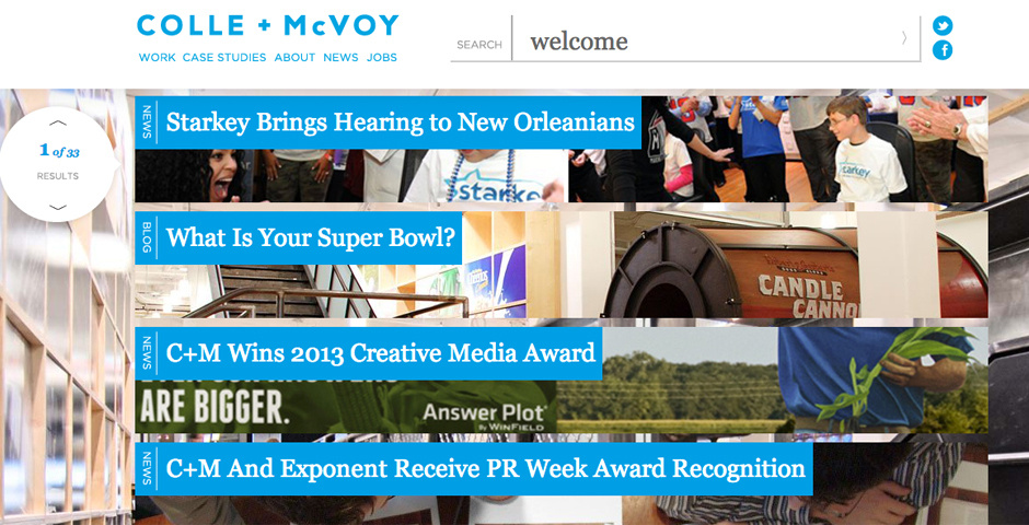 Webby Award Nominee - Collemcvoy.com