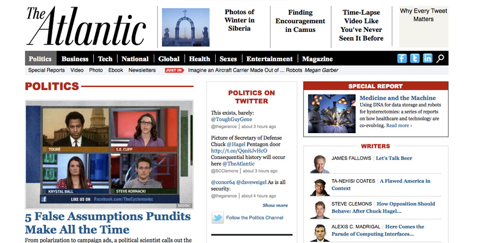 Nominee - The Atlantic Politics