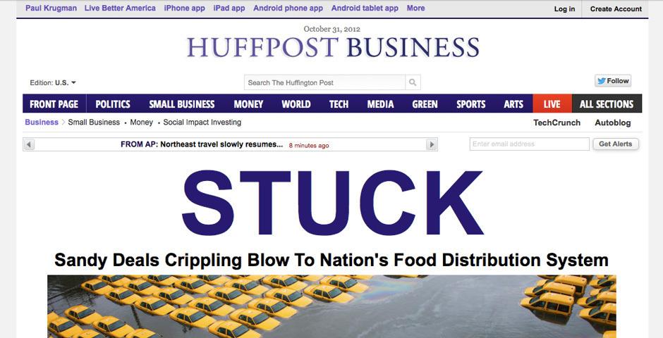 2012 Webby Winner - HuffPost Business