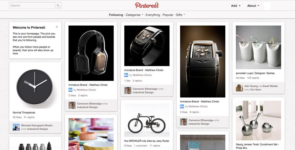 Webby Award Winner - Pinterest
