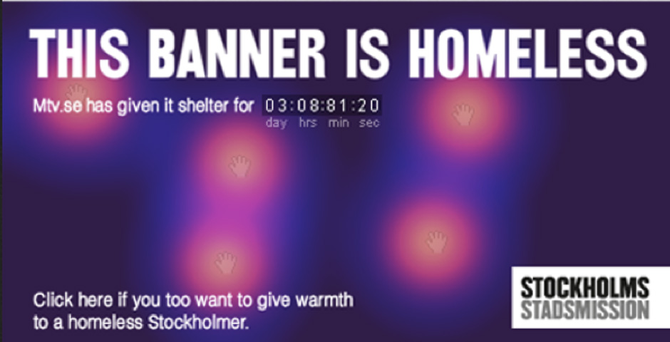 Nominee - Homeless Banners