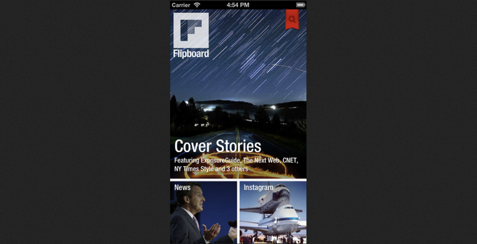People's Voice / Webby Award Winner - Flipboard for iPhone