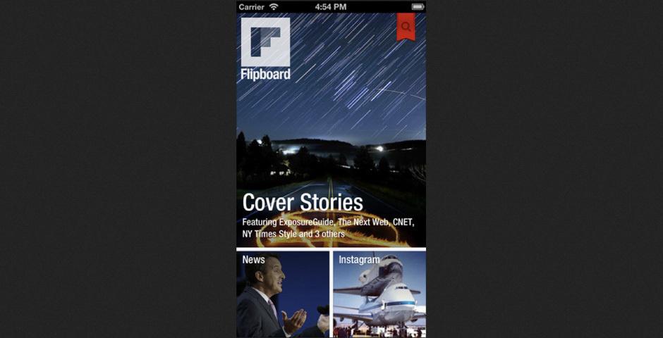 2012 Webby Winner - Flipboard for iPhone