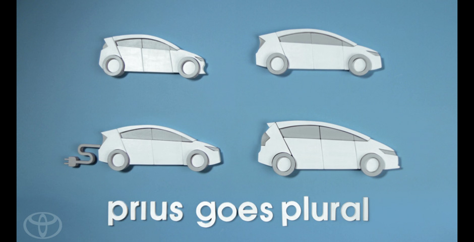 Honoree - Prius Goes Plural