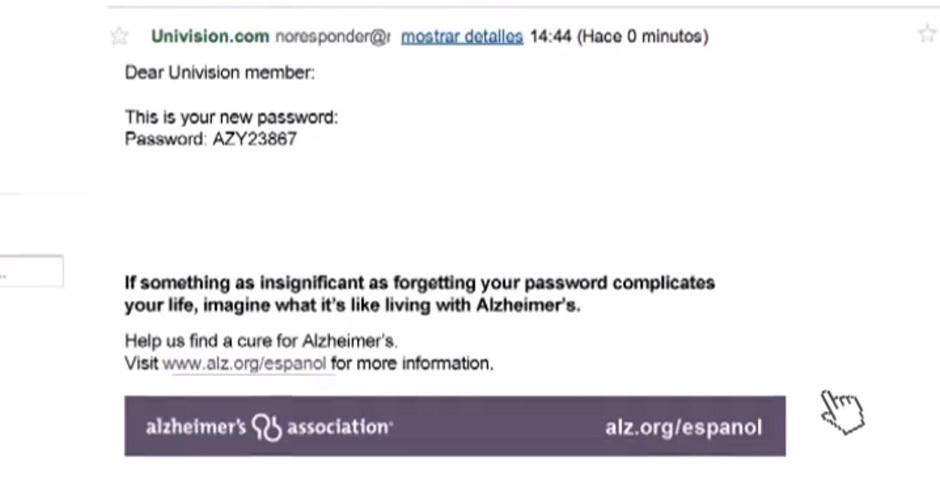 2012 Webby Winner - Forgot Your Password