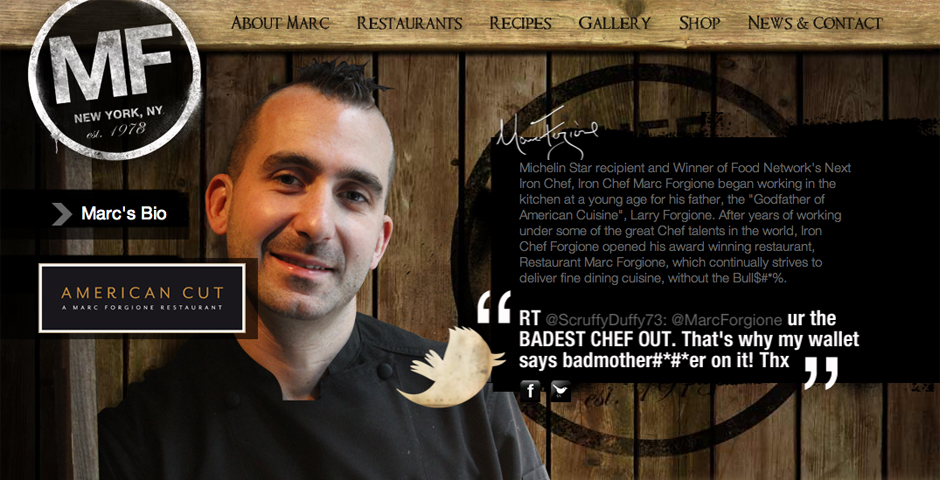 People's Voice - Chef Marc Forgione