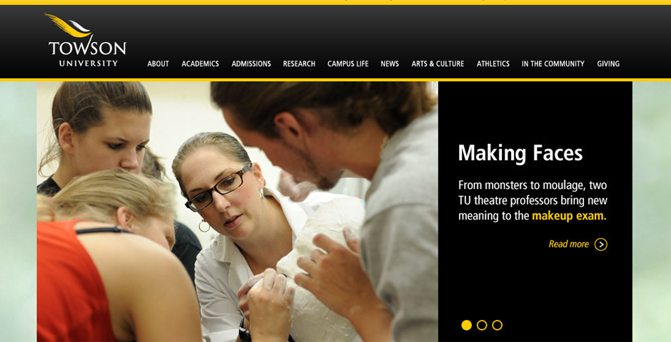 - Towson University – Thinking Outside (MGH)
