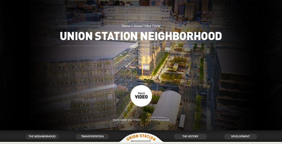 Webby Award Nominee - Union Station Neighborhood Co.