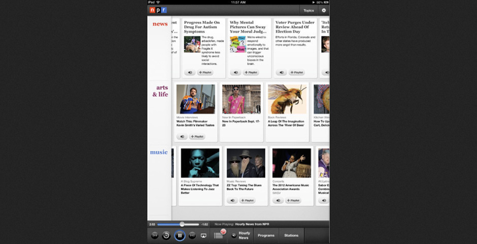 2012 Webby Winner - NPR