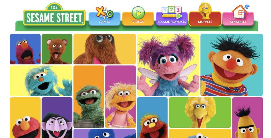 2012 Webby Winner - Sesame Street Muppets