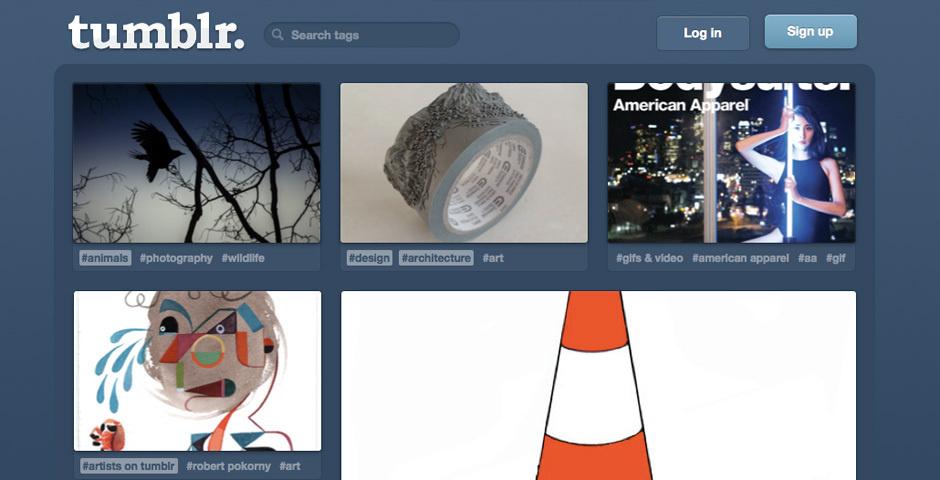 2012 Webby Winner - Tumblr
