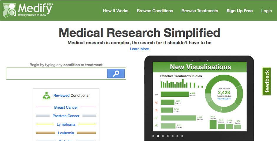 2012 Webby Winner - Medify, Inc.