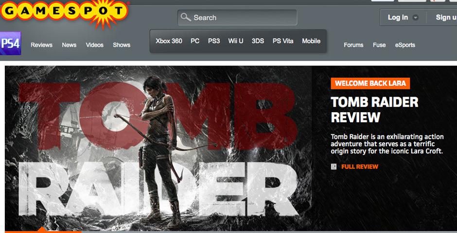 Webby Award Nominee - GameSpot