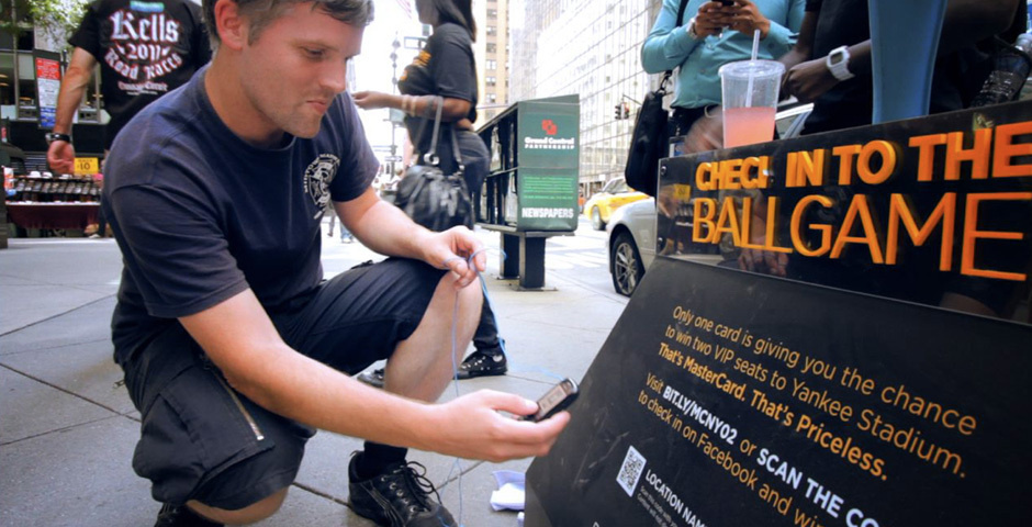 Webby Award Nominee - MasterCard Check In to the Ballgame
