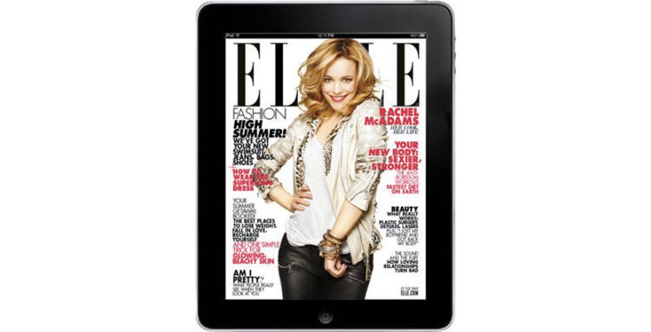 Webby Award Nominee - ELLE's iPad App