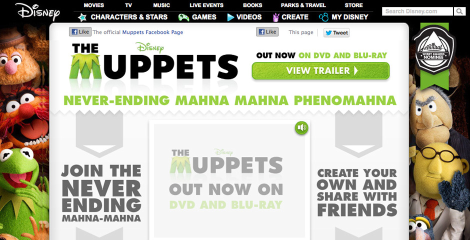 People's Voice - The Muppets Mahna Mahna