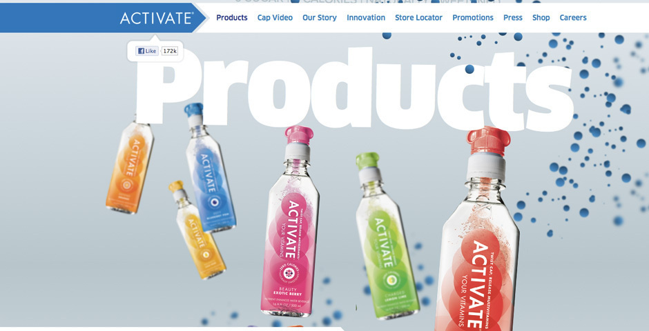 Webby Award Nominee - Activate Drinks