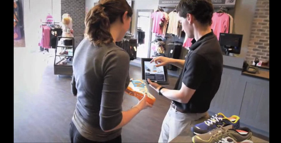 Webby Award Nominee - New Balance in-store Digital Sales Experience