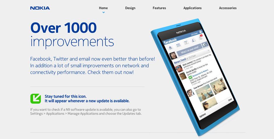 2012 Webby Winner - Nokia Swipe