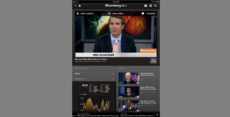 Webby Award Nominee - Bloomberg TV+