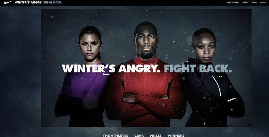 Webby Award Nominee - Nike FightWinter