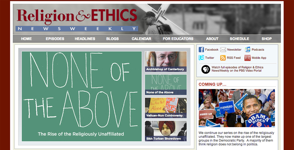 People's Voice - Religion & Ethics NewsWeekly