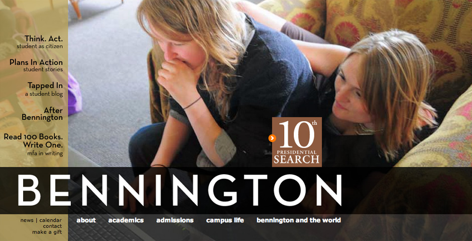 - Bennington College website