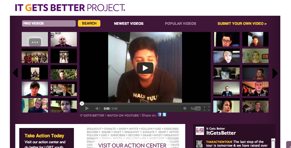 Honoree - It Gets Better Project