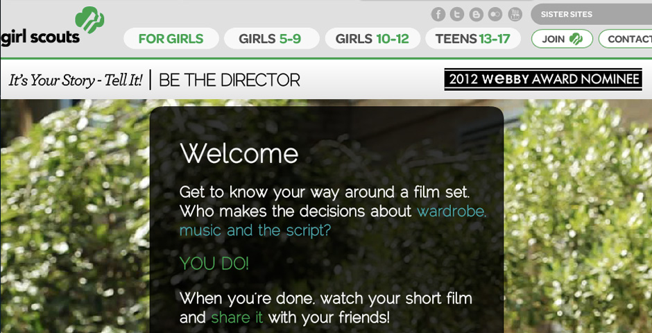 - Be the Director