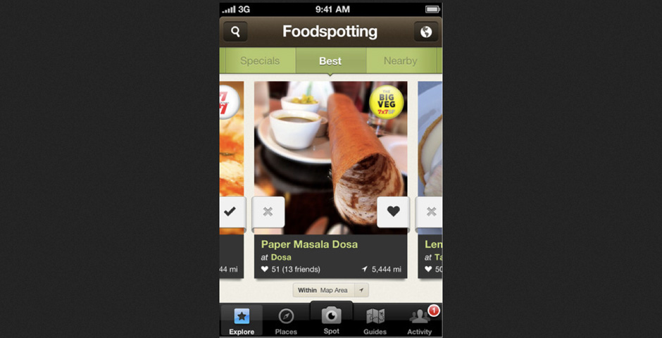 - Foodspotting
