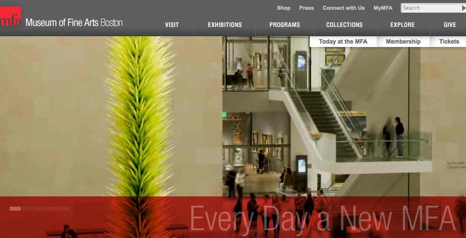 Webby Award Nominee - Museum of Fine Arts, Boston