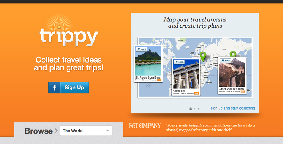 Nominee - Trippy.com – The New Way to Travel