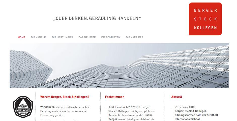 Nominee - Berger, Steck & Kollegen