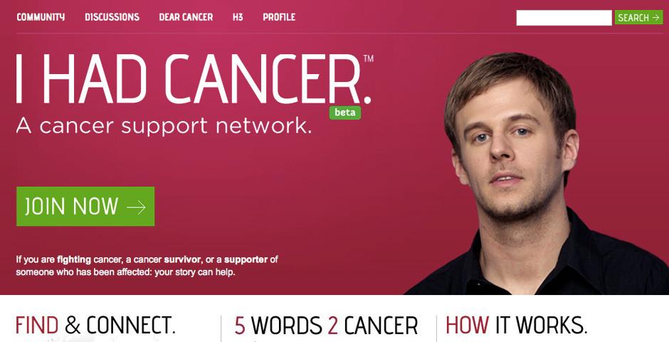 2012 Webby Winner - I Had Cancer