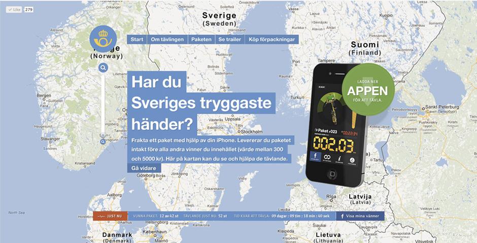 Webby Award Nominee - Sweden\'s Safest Hands