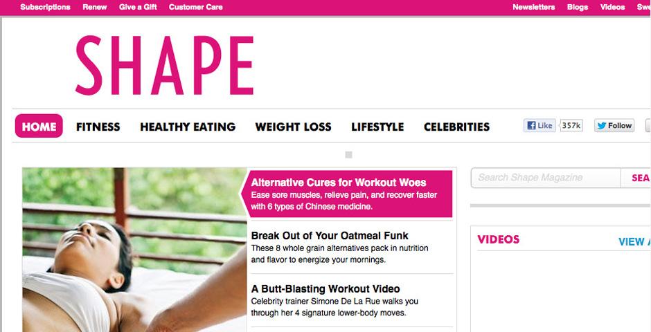 Nominee - Shape.com