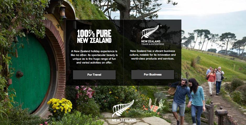 Webby Award Nominee - newzealand.com
