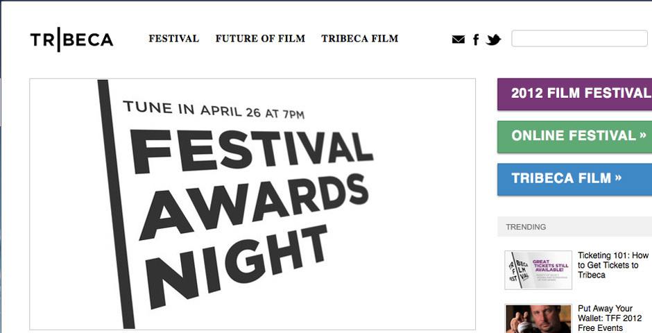 2012 Webby Winner - TribecaFilm.com
